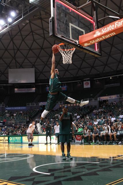 UH Men's Basketball Green vs White Scrimmage