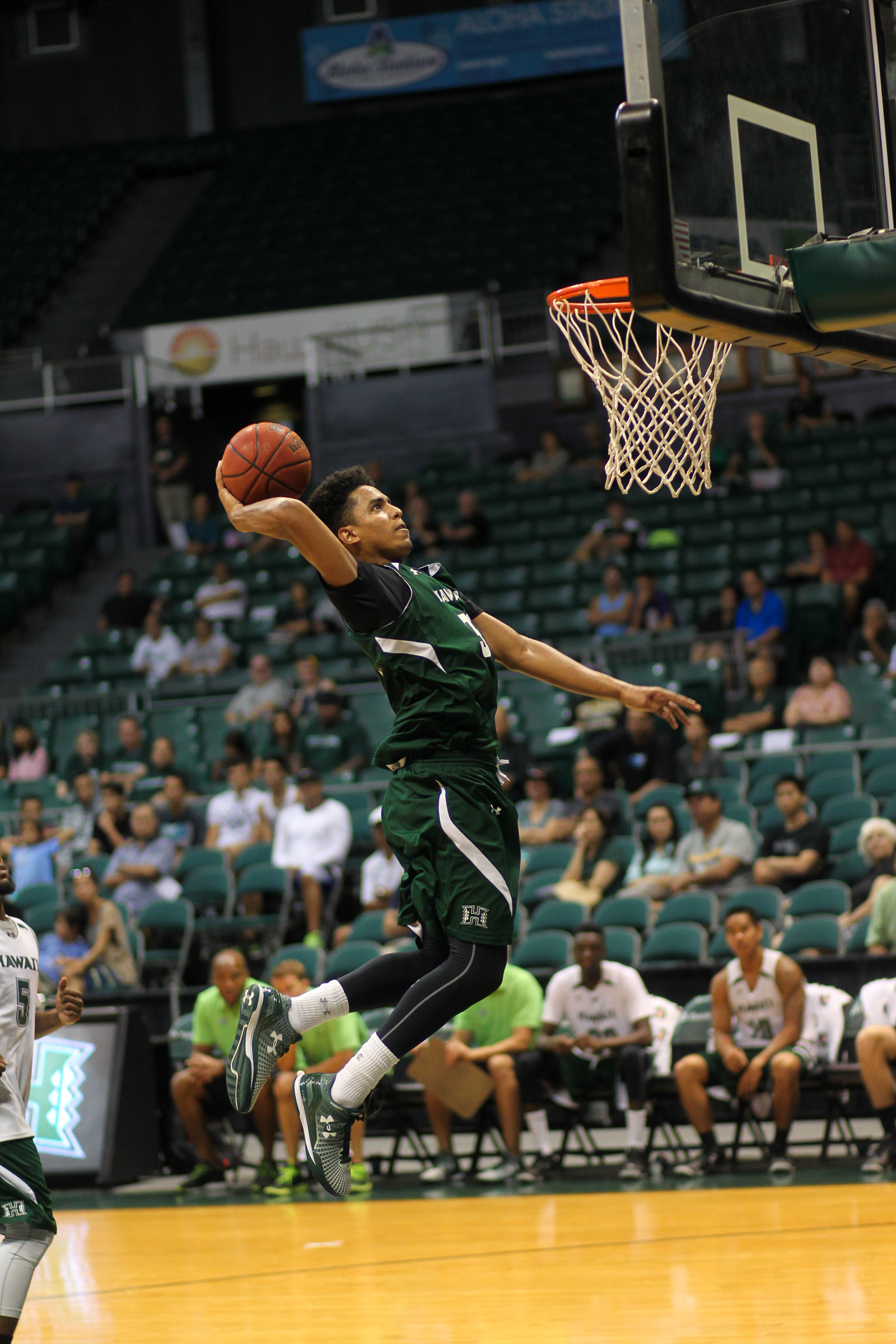 2015 UH Men's Basketball Green and White Scrimmage at the Stan Sheriff Center, Honolulu, HI on October 24 2015. Photo: Brandon Flores.