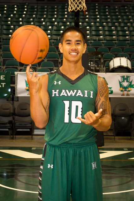 2015-2016 UH Men's Basketball Media Day at the Stan Sheriff Center, Honolulu, HI on October 19 2015. Photo: Brandon Flores.