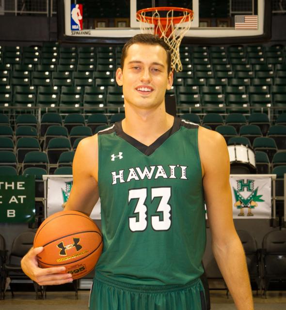 2015-2016 UH Men's Basketball Media Day at the Stan Sheriff Center, Honolulu, HI on October 19 2015. Photo: Brandon Flores.