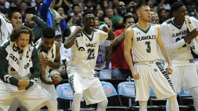 59ee50ae247f Breaking into the national Top 25 polls is not as easy as you think. The  University of Hawai i basketball team has one of the best records in the  country at ...